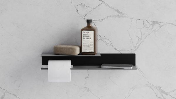 houder toiletpapier [links] Badkameraccessoires