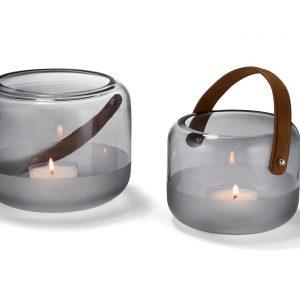 glazen windlicht, groot lifestyle accessoires