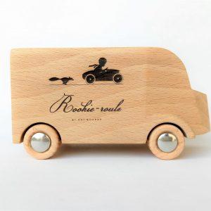 houten bestelbus speelgoed