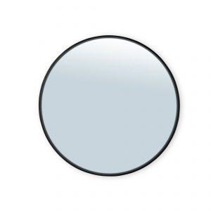 spiegel ø100cm – zwarte rand spiegels