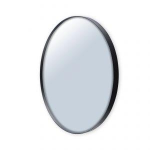spiegel ø120 cm – zwarte rand spiegels 2