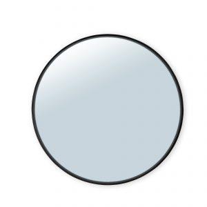 spiegel ø120 cm – zwarte rand spiegels