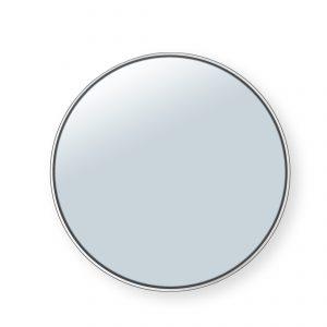 spiegel ø120cm – witte rand spiegels