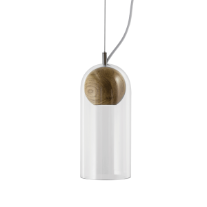 hanglamp met houten bol verlichting 2