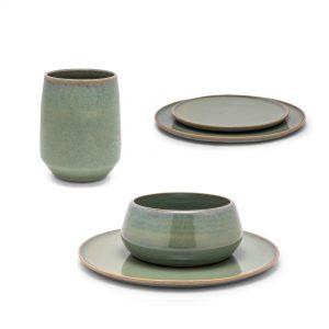 4 keramische kommen keramiek