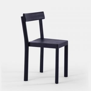zwarte stoel stoelen 2