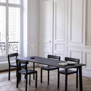 zwarte stoel stoelen