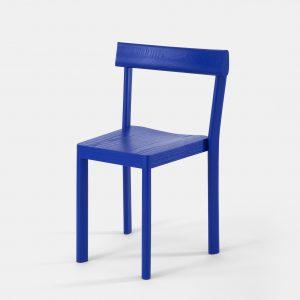 blauwe stoel stoelen 2
